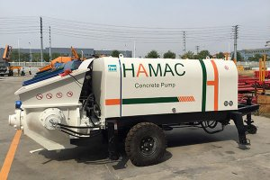 DHBT30 concrete pump in Malawi